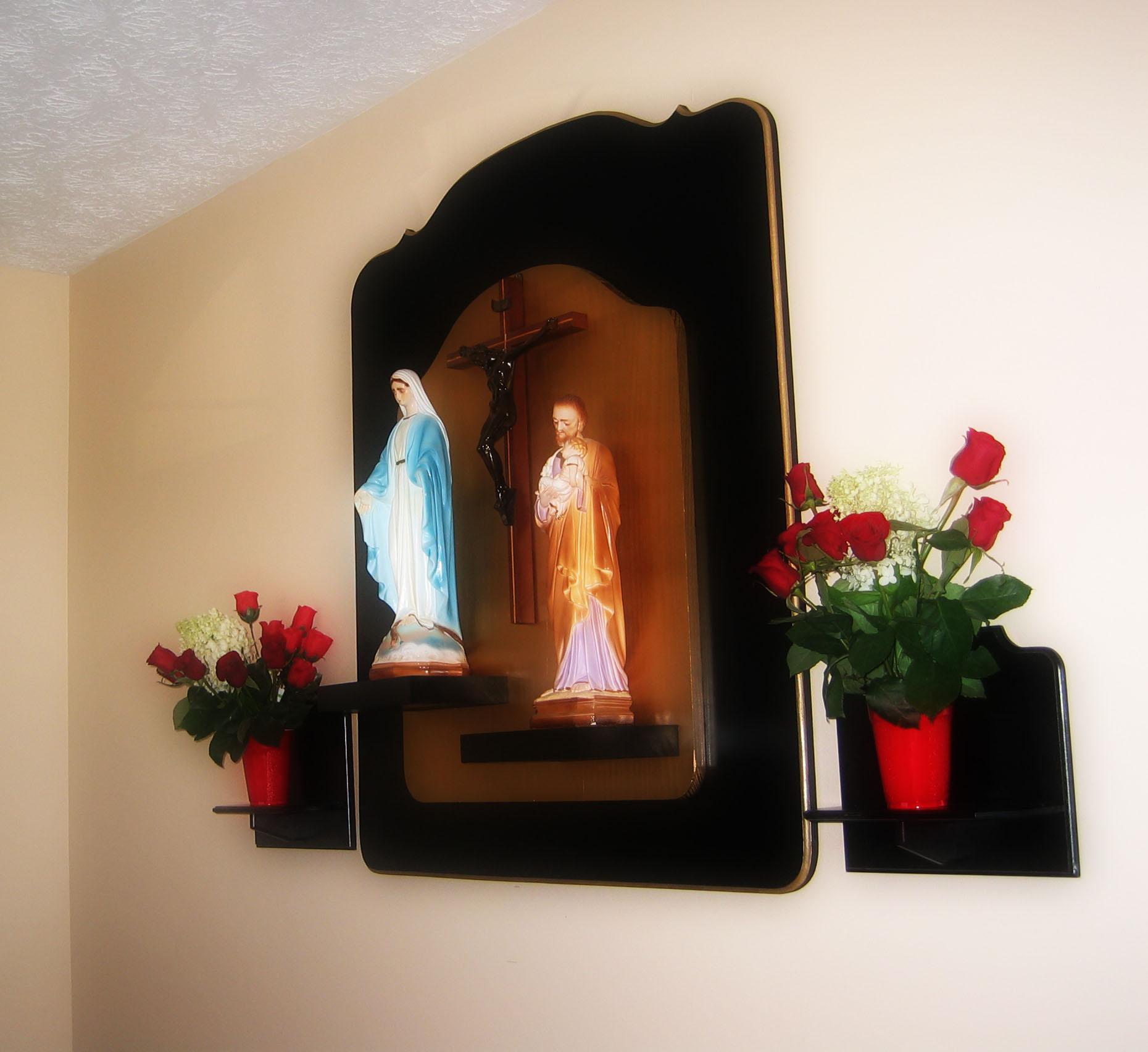 Awesome Home Altar Design Ideas Gallery   Interior Design Ideas .