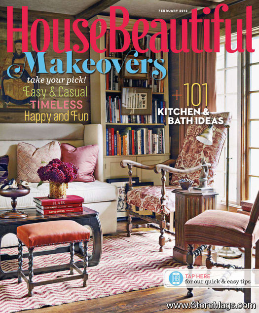 housebeautiful february 2013 will merrill