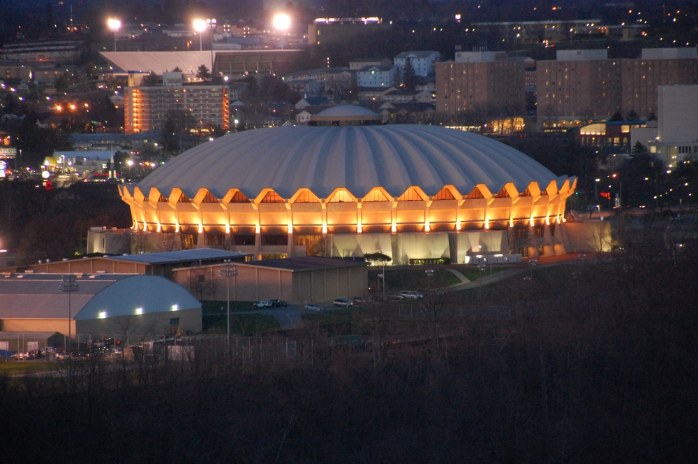 Rich McGervey Coliseum WVU