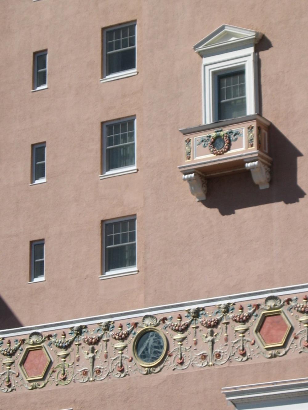 Broadmore facade